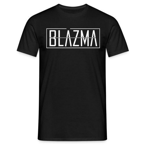 Blazma Front Big White - Men's T-Shirt