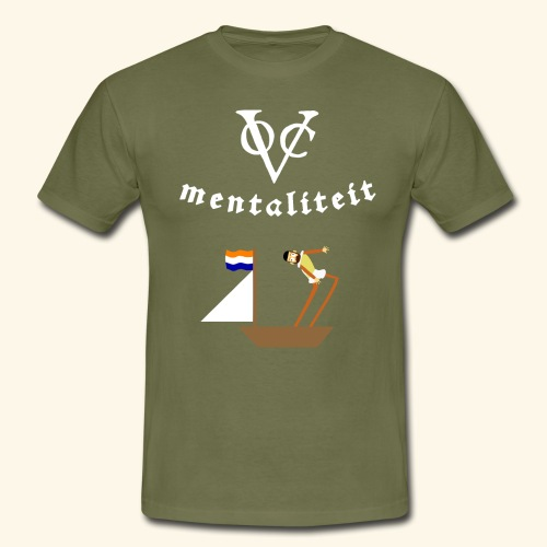 VOC-mentaliteit - Mannen T-shirt
