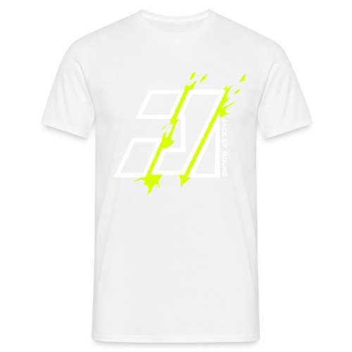jack of sound corrected - Mannen T-shirt