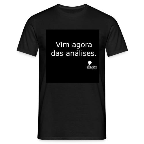 bompovo preta vimagoradasanalises - Men's T-Shirt
