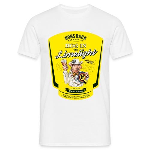 Hog_In_Limelight - Men's T-Shirt