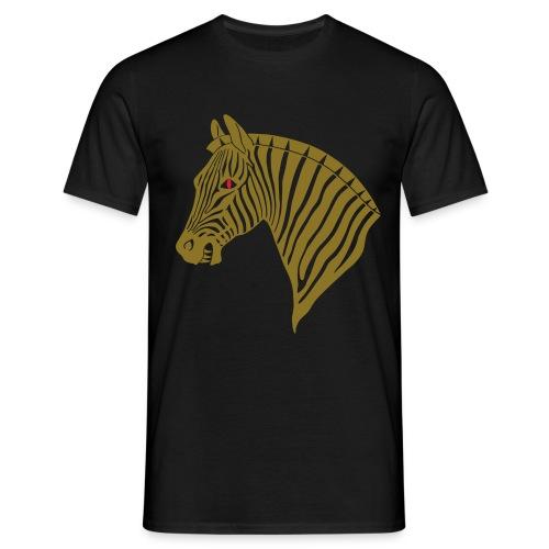 Evil Zebra - Männer T-Shirt