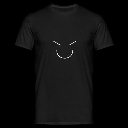 Gute Laune Weiss - Männer T-Shirt