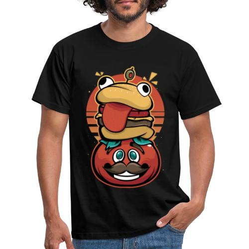Hamburguesa con tomate - Camiseta hombre