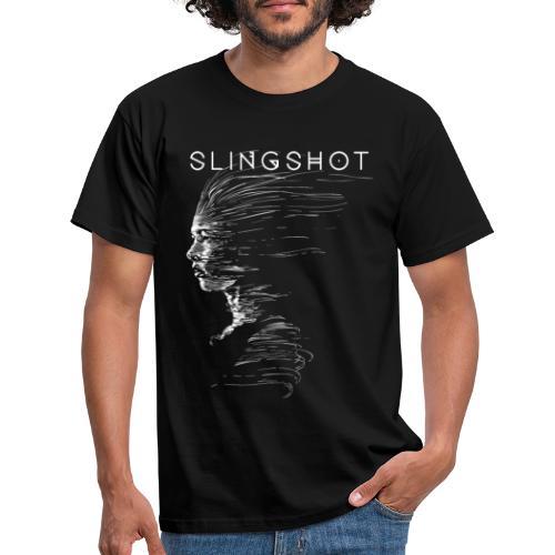Slingshot with title - Men's T-Shirt