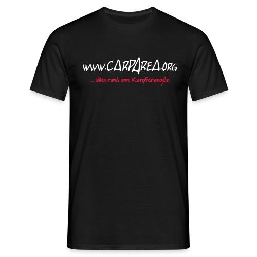 Carparea Logo (Fisch Umrisse) - Männer T-Shirt