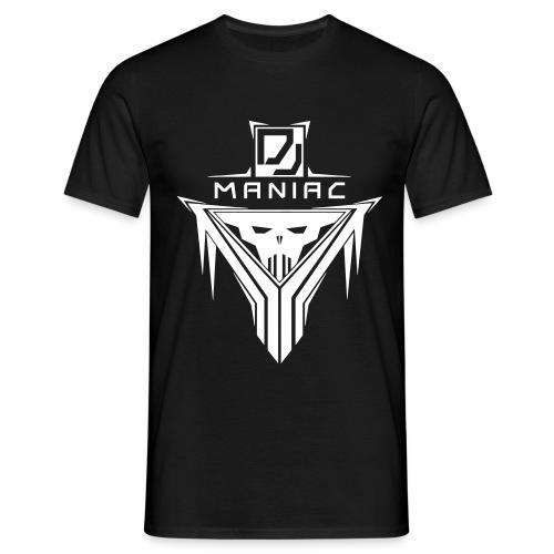 DJ Maniac Logo - Männer T-Shirt