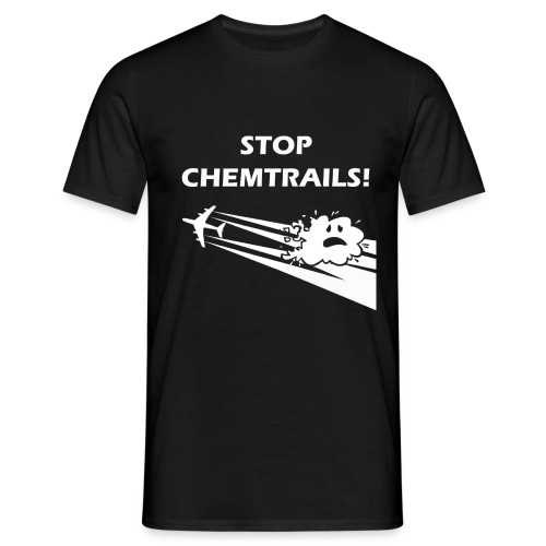 CAMISETA STOPCHEMTRAILS c - Men's T-Shirt
