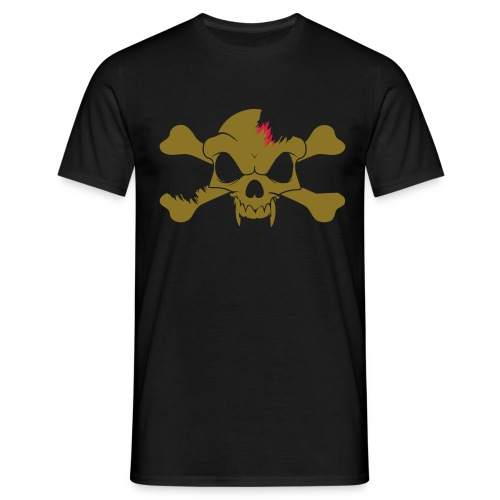 SKULL N CROSS BONES.svg - Men's T-Shirt