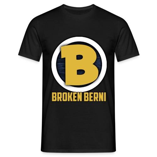 Broken Logo - Männer T-Shirt