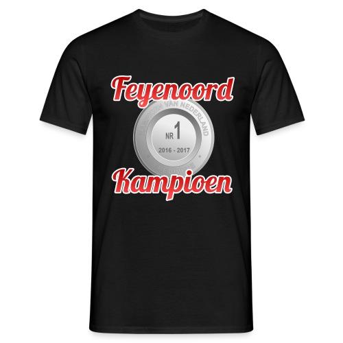 feyenoord kampioen nr1 png - Mannen T-shirt