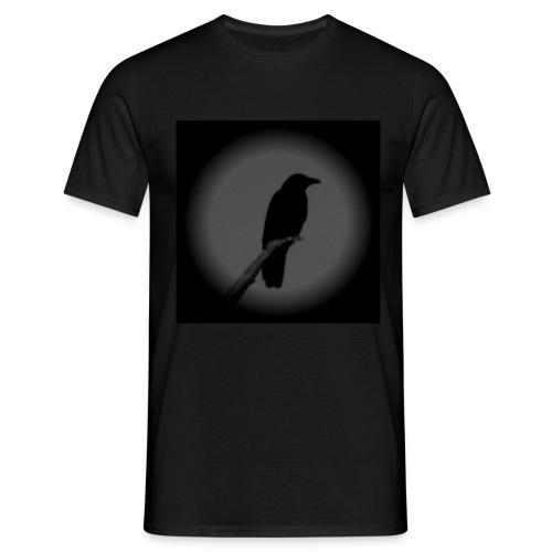 crow jpg - Men's T-Shirt