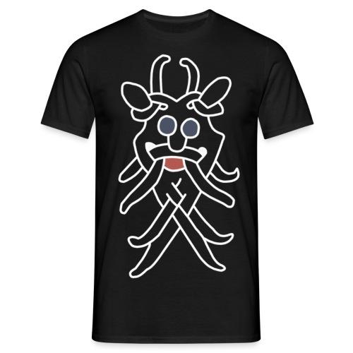 odinhvidstor2 png - Men's T-Shirt