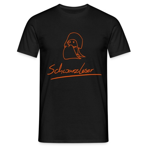 Schwarzleser - Männer T-Shirt