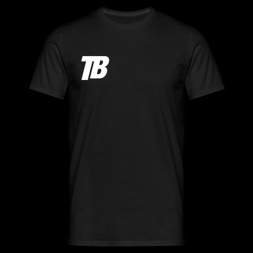 """""""TB"""" Logo - Männer T-Shirt"""