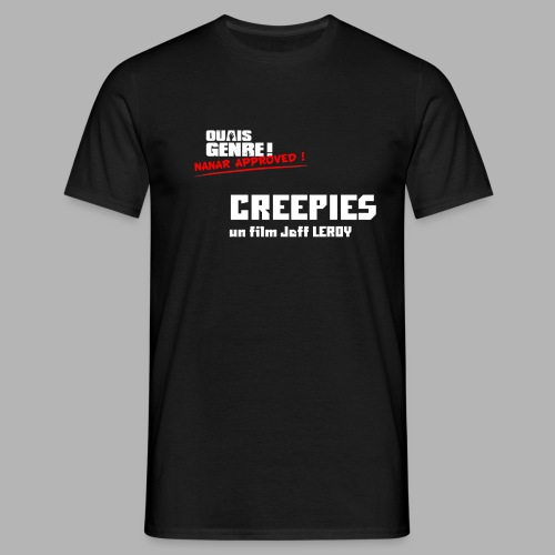 creepies approved png - T-shirt Homme