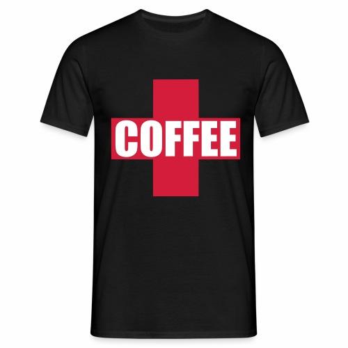 First Aid Coffee - Men's T-Shirt