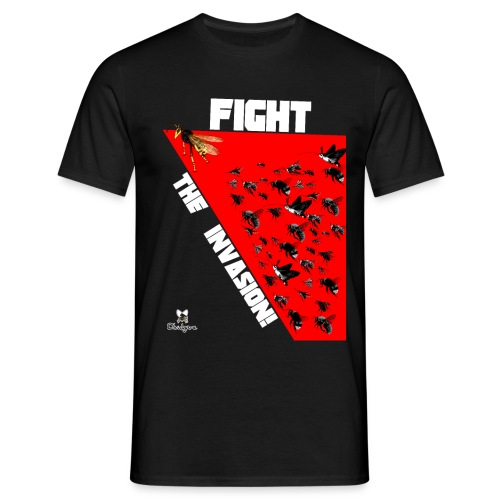 FIGHT THE INVASION - Camiseta hombre