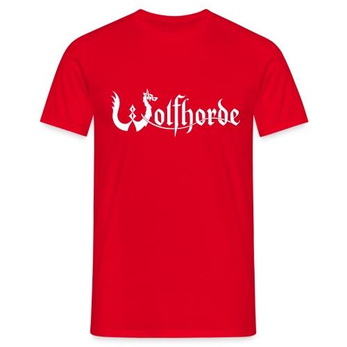 wolfhorde vector black - Men's T-Shirt