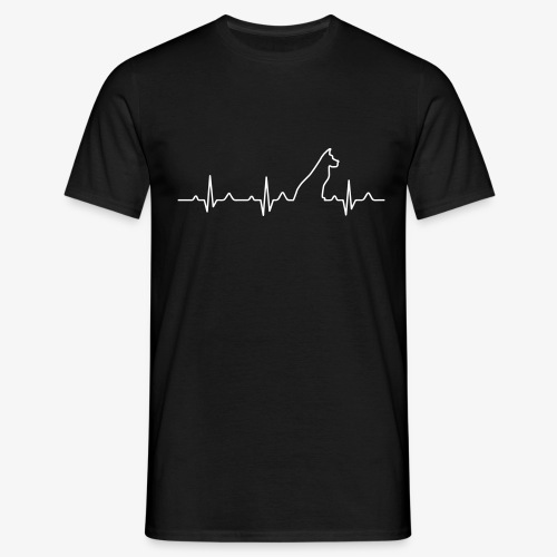 Dog Heartbeat 2 - Männer T-Shirt