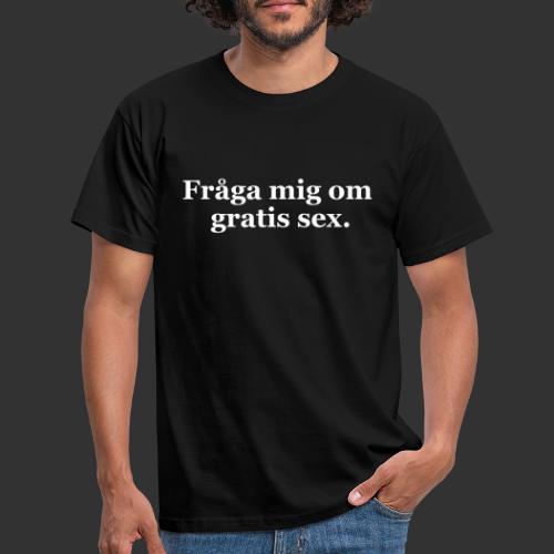 geek fraga mig om - T-shirt herr