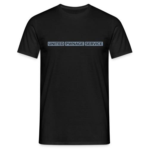 UPS Logo v3 2 - Männer T-Shirt