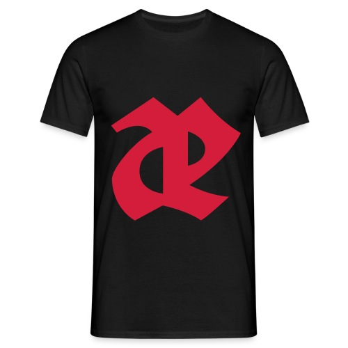 Leaether Strip AE red - Men's T-Shirt