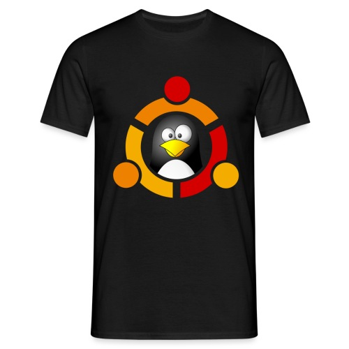 UbunTux - Maglietta da uomo