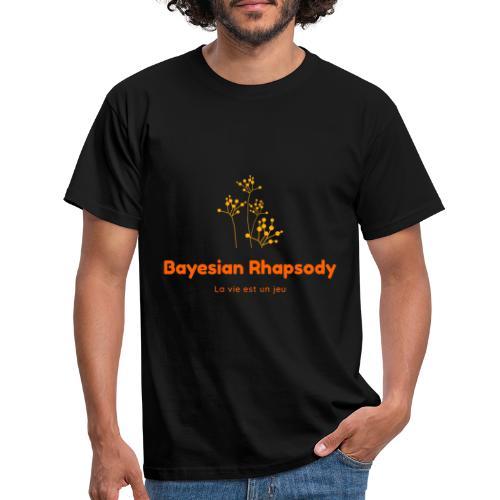 Bayesian Rhapsody Original Orange classique - T-shirt Homme