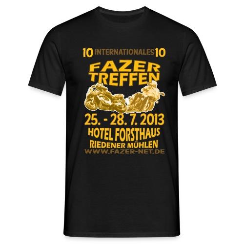 ift10logo gold korr - Männer T-Shirt