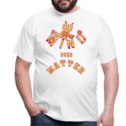 Mind over Matter - Herre-T-shirt