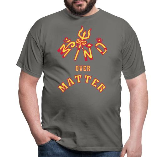 Mind over Matter - Herre-T-shirt