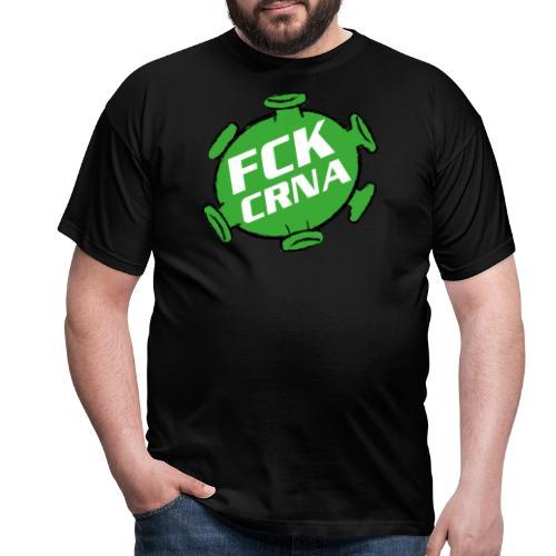 FCK CRNA green - Männer T-Shirt