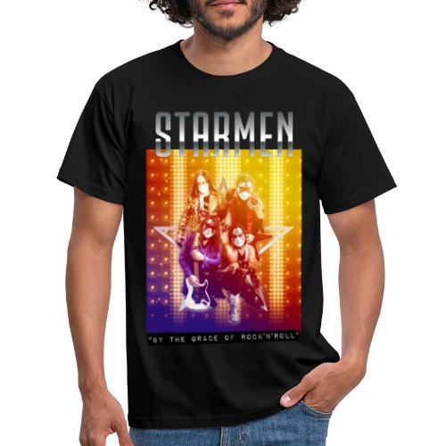 Starmen By the Grace of Rock'n'Roll - Men's T-Shirt