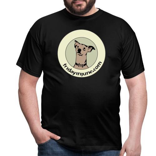 FIJ logo 2020 005 - T-shirt herr