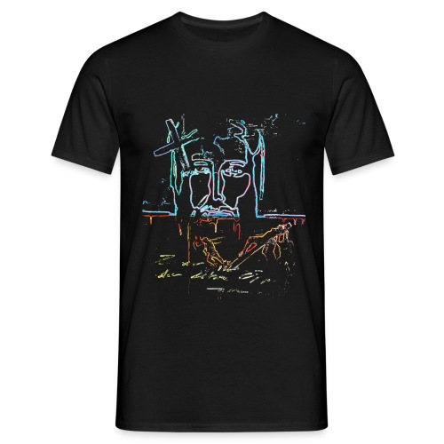 jesus11 gif - Männer T-Shirt