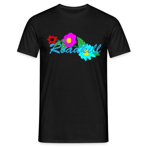 Roadkill-Flowers 2 - T-shirt herr
