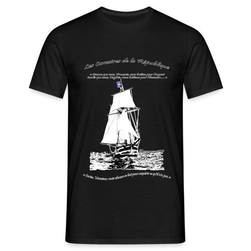 les corsaires de la république RECTO BLANC - T-shirt Homme