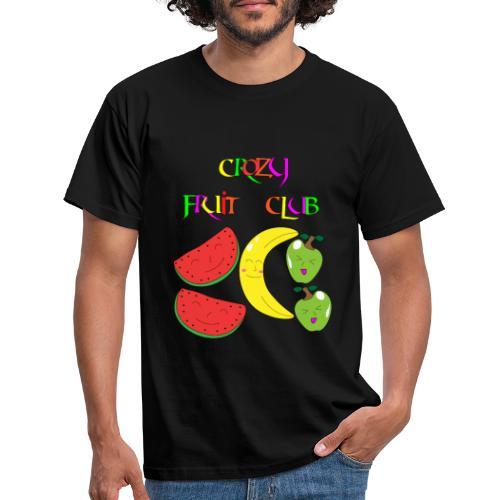 Crazy fruit club - Männer T-Shirt