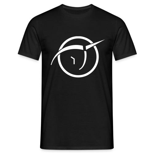 Invisible Pink Unicorn logo classic - Men's T-Shirt