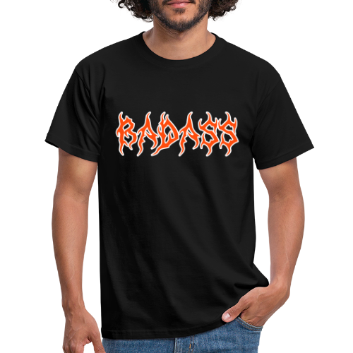Badass coral - T-shirt herr