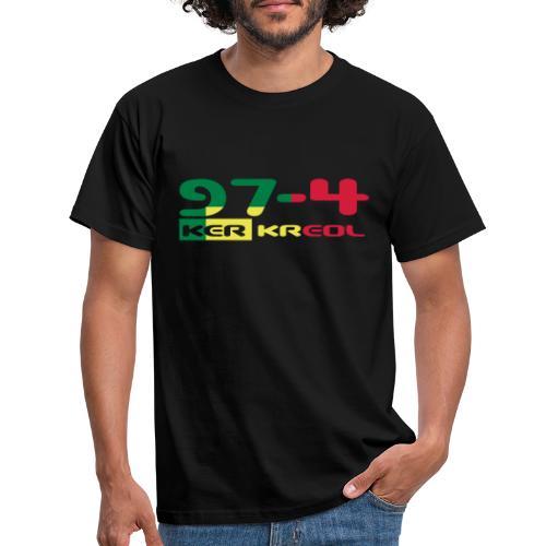 Design 974 ker kreol, rastafari - T-shirt Homme