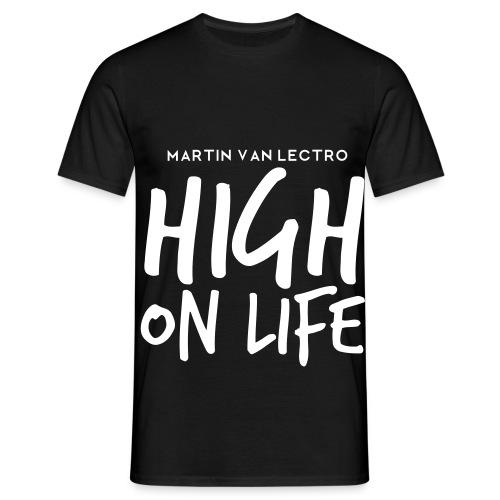 Martin Van Lectro - High on Life - Merch. - Männer T-Shirt