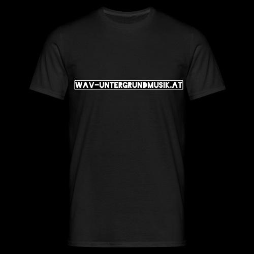 Wav Website - Männer T-Shirt
