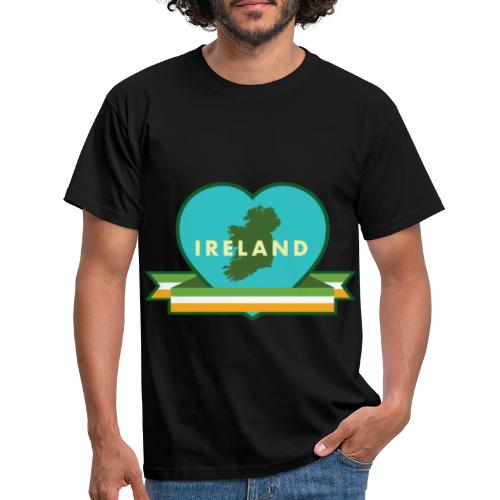 Ireland Love Heart 1 - Men's T-Shirt
