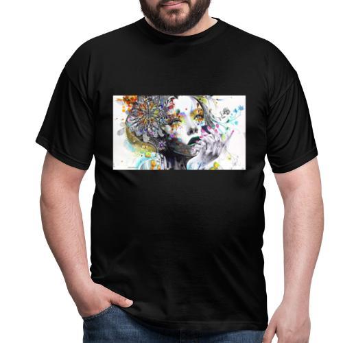 Dreaming girl - Männer T-Shirt