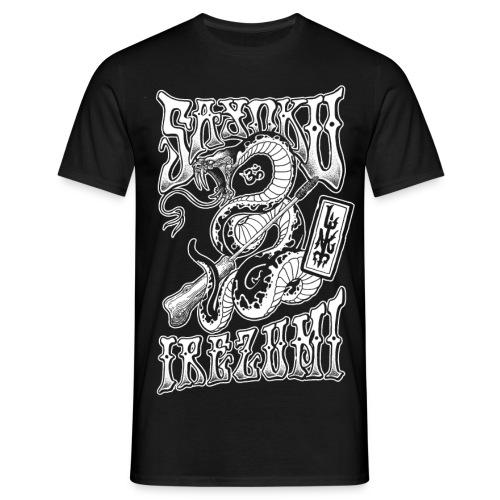 Irezumi Tebori Snake - Männer T-Shirt