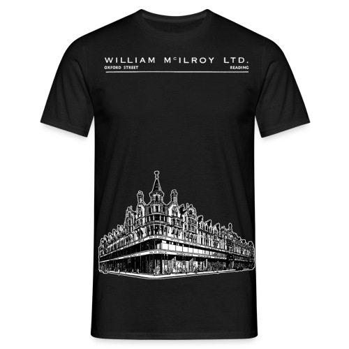 McIlroy's Department Store Reading (Black) - Men's T-Shirt