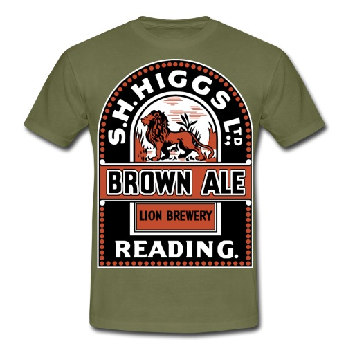 S H Higgs' Lion Brewery Reading - Men's T-Shirt