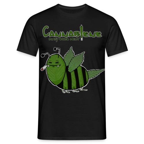 Cannabiene shirt png - Männer T-Shirt